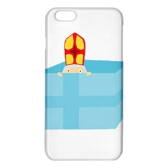 Funny Cute Kids Art St Nicholas St  Nick Sinterklaas Hiding In A Gift Box Iphone 6 Plus/6s Plus Tpu Case by yoursparklingshop