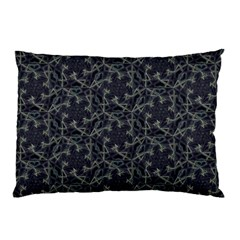 Whirligig Pattern Hand Drawing Grey Pillow Case by Cveti