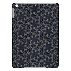 Whirligig Pattern Hand Drawing Grey Ipad Air Hardshell Cases by Cveti