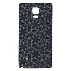 Whirligig Pattern Hand Drawing Grey Galaxy Note 4 Back Case by Cveti