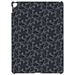 Whirligig Pattern Hand Drawing Grey Apple Ipad Pro 12 9   Hardshell Case by Cveti