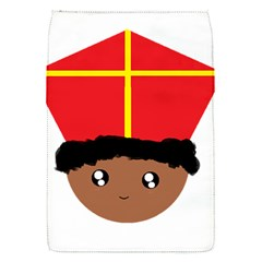 Cutieful Kids Art Funny Zwarte Piet Friend Of St  Nicholas Wearing His Miter Flap Covers (s)  by yoursparklingshop