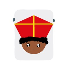 Cutieful Kids Art Funny Zwarte Piet Friend Of St  Nicholas Wearing His Miter Apple Ipad 2/3/4 Protective Soft Cases by yoursparklingshop