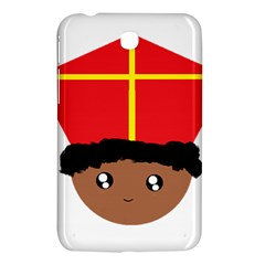 Cutieful Kids Art Funny Zwarte Piet Friend Of St  Nicholas Wearing His Miter Samsung Galaxy Tab 3 (7 ) P3200 Hardshell Case  by yoursparklingshop