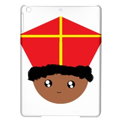Cutieful Kids Art Funny Zwarte Piet Friend Of St  Nicholas Wearing His Miter Ipad Air Hardshell Cases by yoursparklingshop