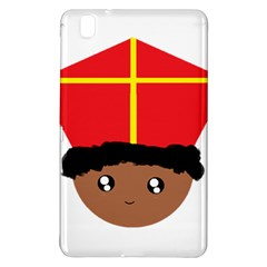 Cutieful Kids Art Funny Zwarte Piet Friend Of St  Nicholas Wearing His Miter Samsung Galaxy Tab Pro 8 4 Hardshell Case by yoursparklingshop