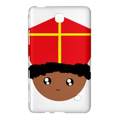 Cutieful Kids Art Funny Zwarte Piet Friend Of St  Nicholas Wearing His Miter Samsung Galaxy Tab 4 (7 ) Hardshell Case  by yoursparklingshop