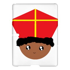 Cutieful Kids Art Funny Zwarte Piet Friend Of St  Nicholas Wearing His Miter Samsung Galaxy Tab S (10 5 ) Hardshell Case  by yoursparklingshop