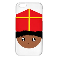 Cutieful Kids Art Funny Zwarte Piet Friend Of St  Nicholas Wearing His Miter Iphone 6 Plus/6s Plus Tpu Case by yoursparklingshop