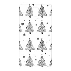 Christmas Tree   Pattern Samsung Galaxy Note 3 N9005 Hardshell Back Case by Valentinaart