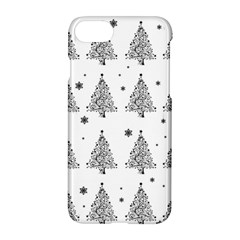 Christmas Tree   Pattern Apple Iphone 7 Hardshell Case