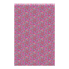 Whirligig Pattern Hand Drawing Pink 01 Shower Curtain 48  X 72  (small)  by Cveti