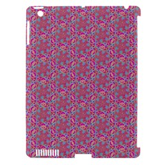 Whirligig Pattern Hand Drawing Pink 01 Apple Ipad 3/4 Hardshell Case (compatible With Smart Cover) by Cveti