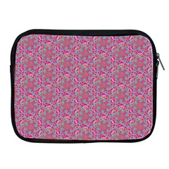 Whirligig Pattern Hand Drawing Pink 01 Apple Ipad 2/3/4 Zipper Cases by Cveti