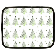 Christmas Tree   Pattern Netbook Case (xl)