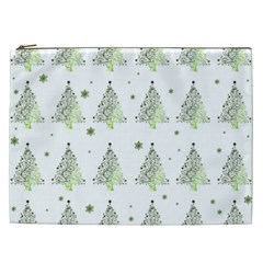 Christmas Tree   Pattern Cosmetic Bag (xxl)  by Valentinaart