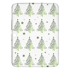 Christmas Tree   Pattern Samsung Galaxy Tab 3 (10 1 ) P5200 Hardshell Case