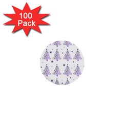 Christmas Tree   Pattern 1  Mini Buttons (100 Pack)