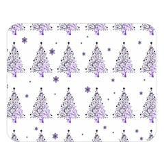 Christmas Tree   Pattern Double Sided Flano Blanket (large)