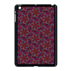 Whirligig Pattern Hand Drawing Red Apple Ipad Mini Case (black) by Cveti