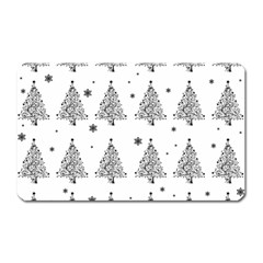 Christmas Tree   Pattern Magnet (rectangular) by Valentinaart