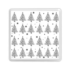 Christmas Tree   Pattern Memory Card Reader (square)  by Valentinaart