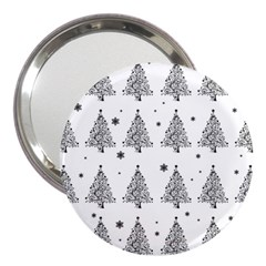 Christmas Tree - Pattern 3  Handbag Mirrors by Valentinaart
