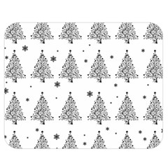 Christmas Tree   Pattern Double Sided Flano Blanket (medium)  by Valentinaart