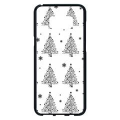 Christmas Tree   Pattern Samsung Galaxy S8 Plus Black Seamless Case by Valentinaart