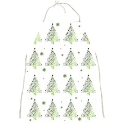 Christmas Tree   Pattern Full Print Aprons by Valentinaart