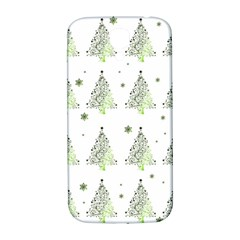 Christmas Tree   Pattern Samsung Galaxy S4 I9500/i9505  Hardshell Back Case by Valentinaart