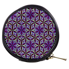 Flower Of Life Hand Drawing Pattern Mini Makeup Bags by Cveti