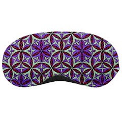 Flower Of Life Hand Drawing Pattern Sleeping Masks by Cveti