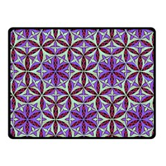 Flower Of Life Hand Drawing Pattern Fleece Blanket (small) by Cveti