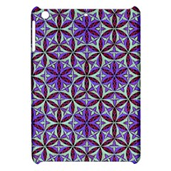 Flower Of Life Hand Drawing Pattern Apple Ipad Mini Hardshell Case by Cveti
