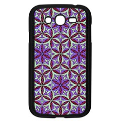 Flower Of Life Hand Drawing Pattern Samsung Galaxy Grand Duos I9082 Case (black) by Cveti