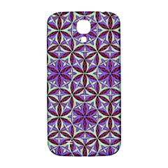 Flower Of Life Hand Drawing Pattern Samsung Galaxy S4 I9500/i9505  Hardshell Back Case by Cveti