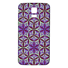 Flower Of Life Hand Drawing Pattern Samsung Galaxy S5 Back Case (white) by Cveti
