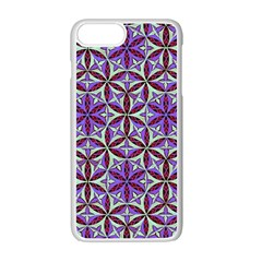 Flower Of Life Hand Drawing Pattern Apple Iphone 7 Plus Seamless Case (white) by Cveti