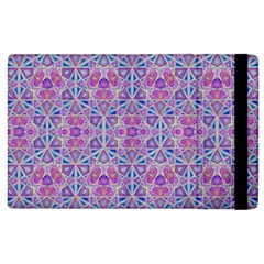 Star Tetrahedron Hand Drawing Pattern Purple Apple Ipad 3/4 Flip Case by Cveti