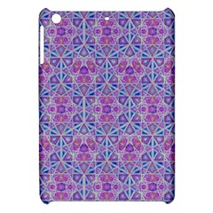 Star Tetrahedron Hand Drawing Pattern Purple Apple Ipad Mini Hardshell Case by Cveti