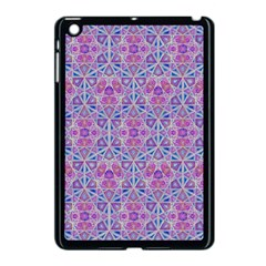 Star Tetrahedron Hand Drawing Pattern Purple Apple Ipad Mini Case (black) by Cveti
