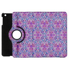 Star Tetrahedron Hand Drawing Pattern Purple Apple Ipad Mini Flip 360 Case by Cveti