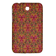 Star Tetrahedron Pattern Red Samsung Galaxy Tab 3 (7 ) P3200 Hardshell Case  by Cveti
