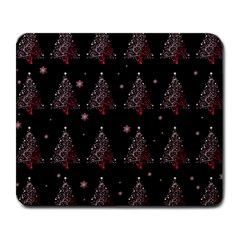 Christmas Tree   Pattern Large Mousepads by Valentinaart