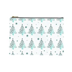 Christmas Tree   Pattern Cosmetic Bag (large)  by Valentinaart