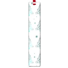 Christmas Tree   Pattern Large Book Marks