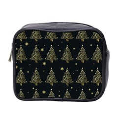 Christmas Tree   Pattern Mini Toiletries Bag 2 Side by Valentinaart