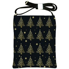 Christmas Tree   Pattern Shoulder Sling Bags by Valentinaart