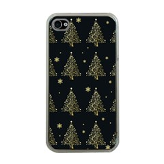 Christmas Tree   Pattern Apple Iphone 4 Case (clear) by Valentinaart